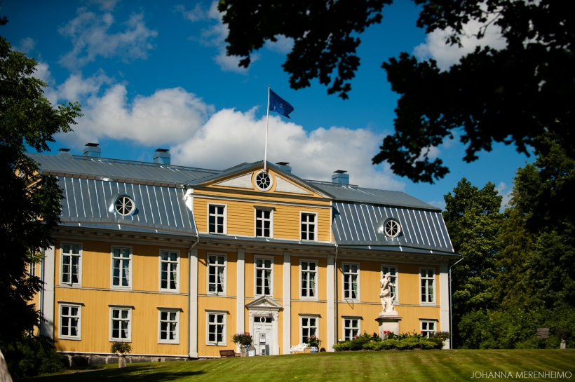 Mustion linna - Svartå Manor ruokakuvaus