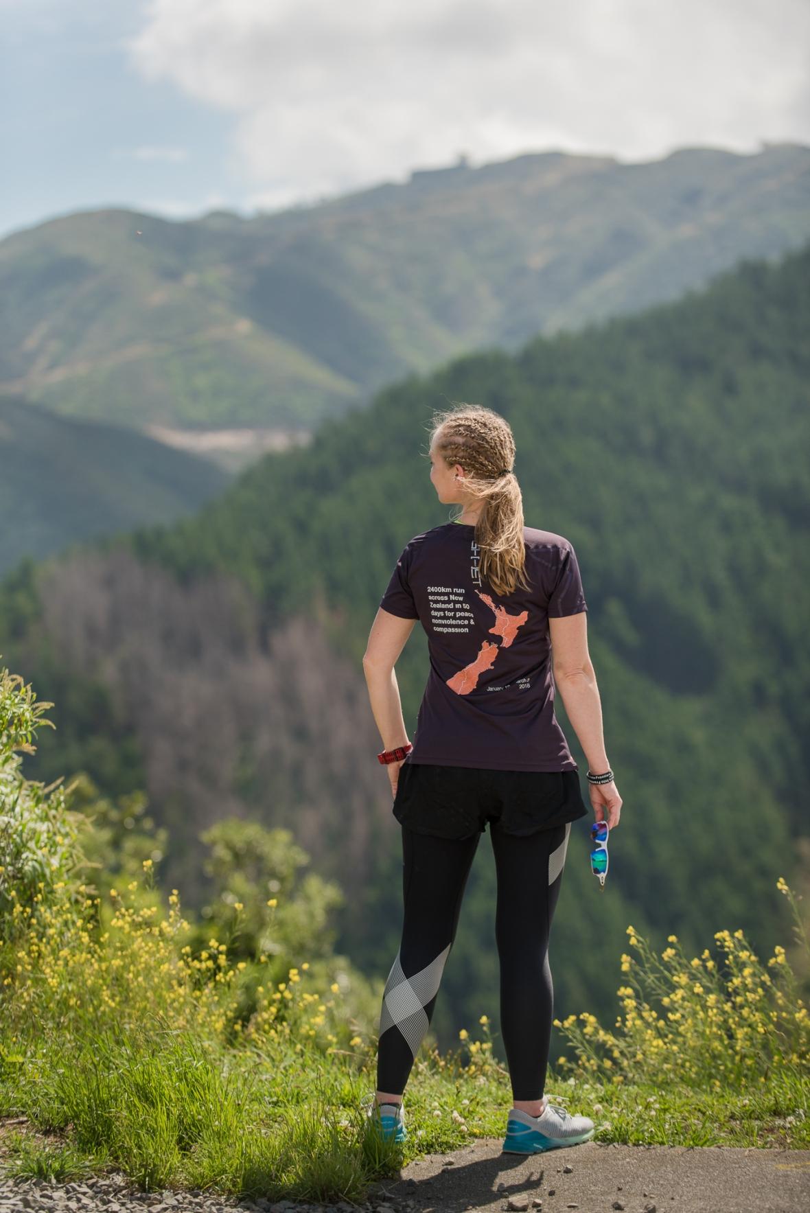 Emilia Lahti Sisu not silence on a run through NZ