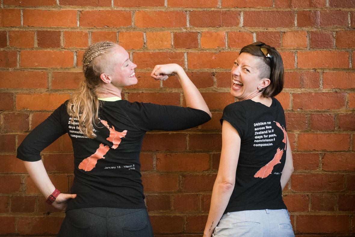 Emilia Lahti and Mina Holder Sisu not silence preparing for their journey through NZ