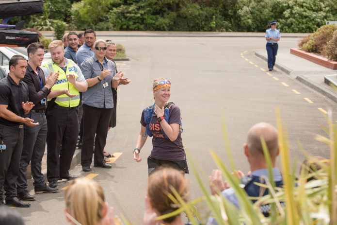 Emilia Lahti Sisu not silence arriving NZ Royal Police academy