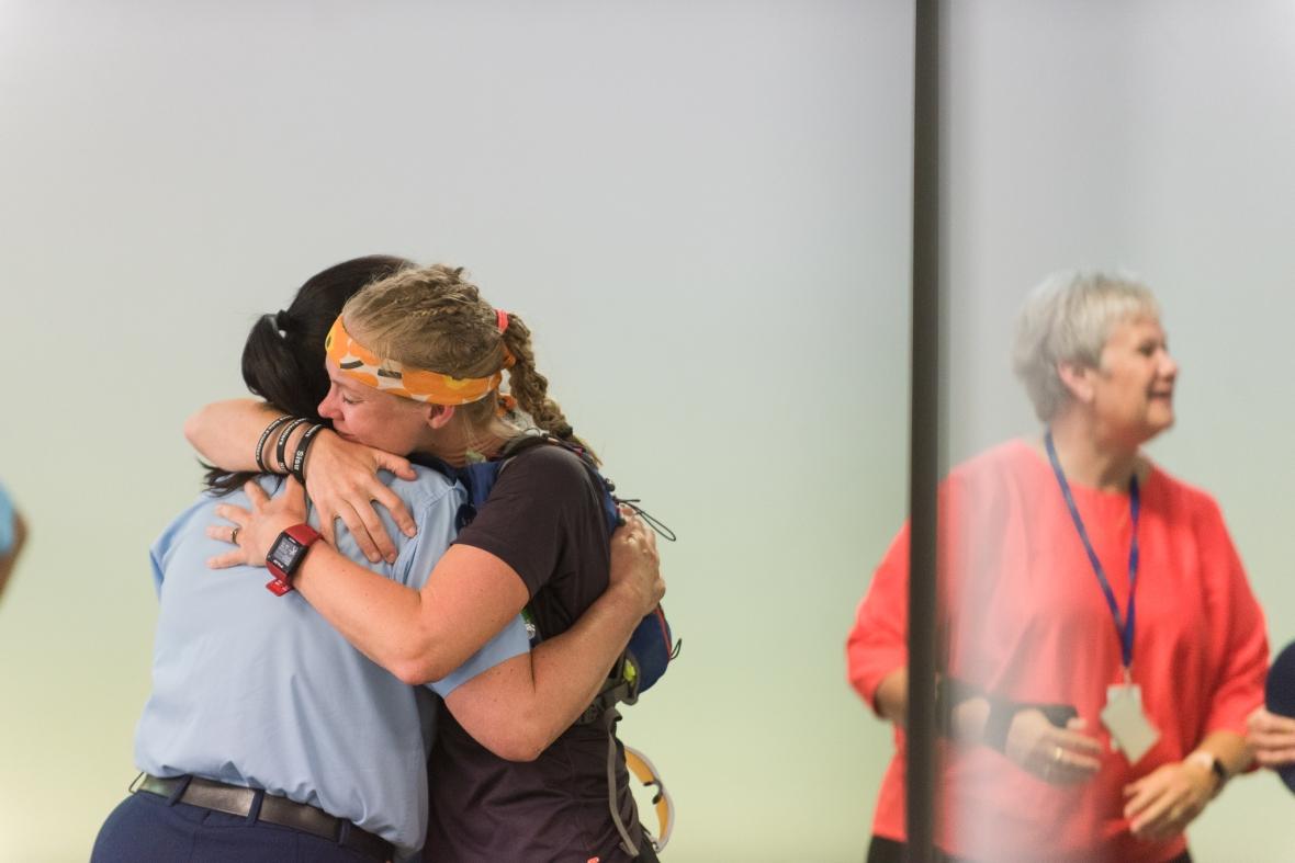 Emilia Lahti Sisu not silence after her speech at NZ Police College in Porirua